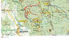 Zamknięte szlaki w Strużnicy, utrudnienia w Borowicach