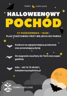 Mroczny Pochód Halloweenowy w Cieplicach