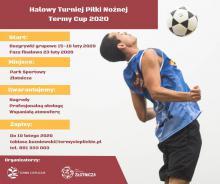 Halowy Turniej Piłki Nożnej Termy Cup 2020 - zgłoszenia do 10 lutego!