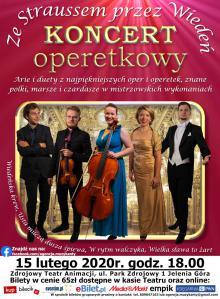 Ze Straussem przez Wiedeń - koncert w Cieplicach