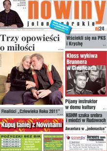 Okładka Nowin Jeleniogórskich Nr 7 (2012-02-14)