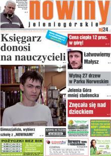 Okładka Nowin Jeleniogórskich Nr 13 (2012-03-27)