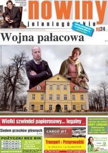 Okładka Nowin Jeleniogórskich Nr 14 (2012-04-03)