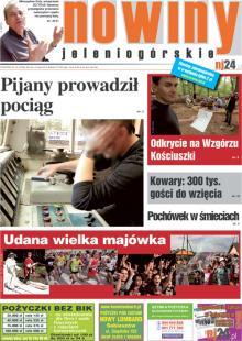 Okładka Nowin Jeleniogórskich Nr 18 (2012-05-08)