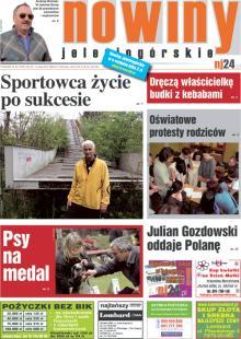 Okładka Nowin Jeleniogórskich Nr 20 (2012-05-15)