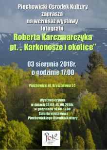 """Wystawa """"Karkonosze i okolice"""" w Piechowickim Ośrodku Kultury"""